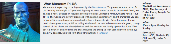26 Wax Museum