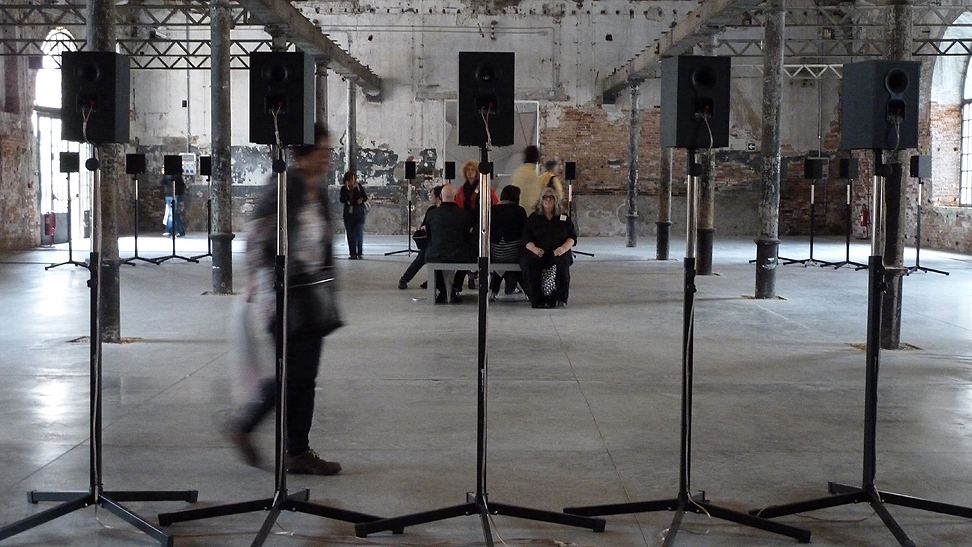 "Janet Cardiff ""The Forty Part Motet"""