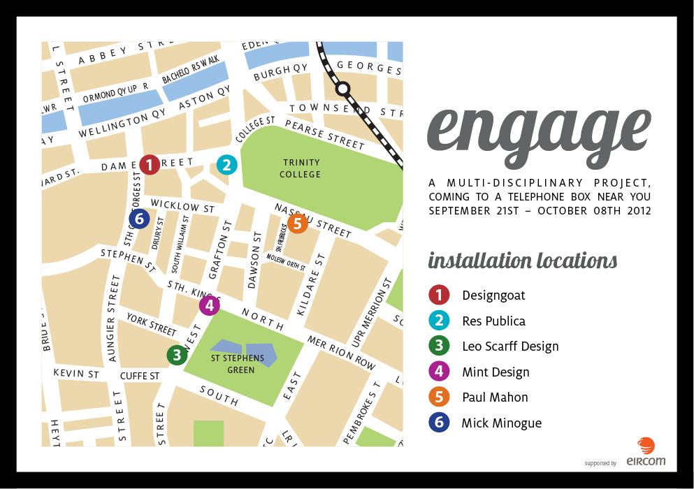 enagage locations
